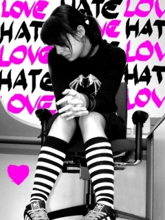 I hate love with girl