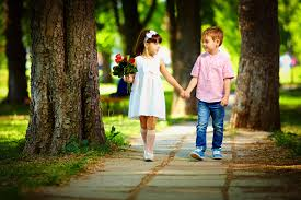 love story in childhood