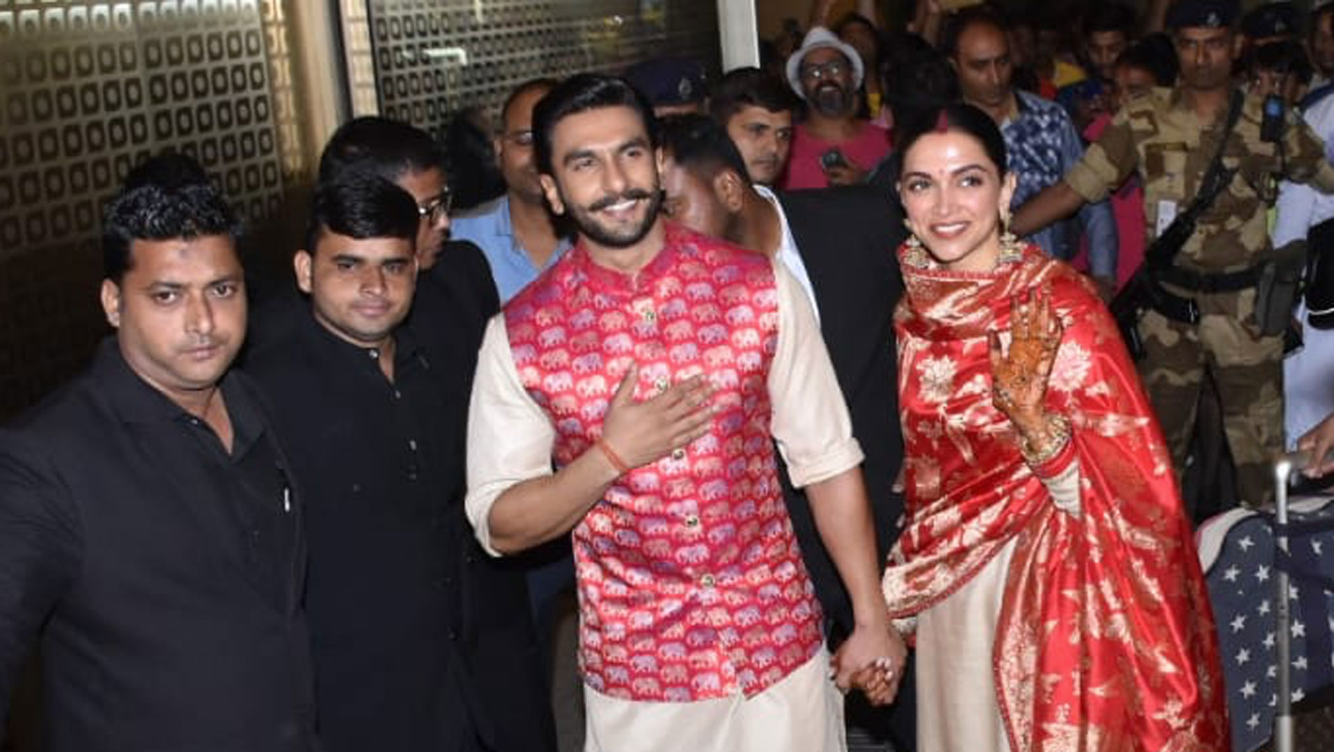 Ranveer - Deepika marriage pics 3