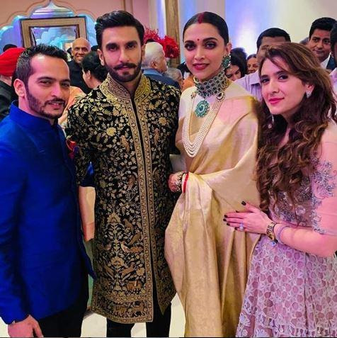 Ranveer - Deepika wedding pic
